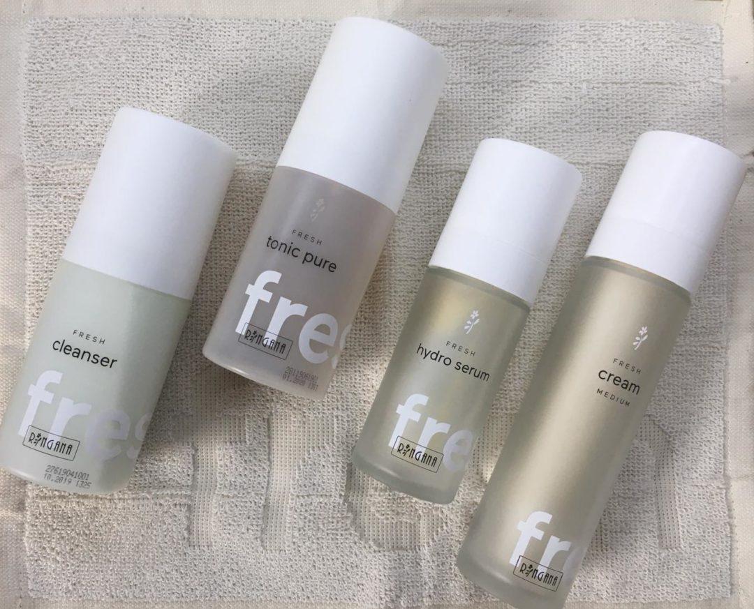 RINGANA-Gesichtspflege-Cleanser-Tonic Pure-Hydro Serum-Cream